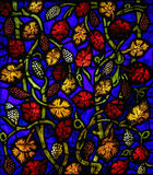 Stained Glass in Leon. Stained glass window in the cathedral of Leon, Castille and Leon, Spain Stock Photos