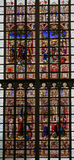 Stained Glass in Lier Royalty Free Stock Image