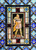 Stained glass with Macbeth Stock Images