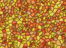 Stained-glass multi colored window backgrounds Stock Image