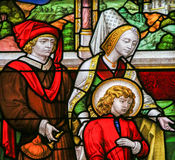 Stained Glass - Noble Family