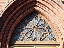 Beautiful old church door details, Lithuania stock photos