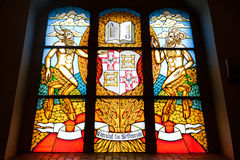 Stained-glass paneel Royalty-vrije Stock Fotografie