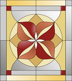 Stained glass  pattern Royalty Free Stock Photography