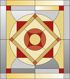 Stained glass  pattern Royalty Free Stock Images