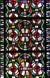 Stained glass pattern. A photo of a stained glass pattern Royalty Free Stock Images