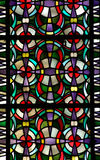 Stained glass pattern. A photo of a stained glass pattern, with a lot of colors Stock Image