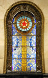 Stained glass picture Royalty Free Stock Photo