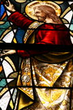 Stained glass religion Stock Photos