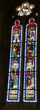 Stained glass, religious scenes Stock Photo
