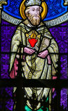 Stained Glass - Saint Augustine Stock Photos