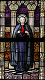 Stained Glass - Saint Francis Xavier Royalty Free Stock Photography