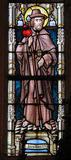 Stained Glass - Saint Jacob Stock Image