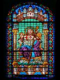Stained Glass of Saint James Royalty Free Stock Image