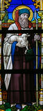 Stained Glass - Saint Joachim Royalty Free Stock Photo