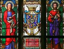 Free Stained Glass - Saint Matthew And Saint Bartholomew Royalty Free Stock Photography - 70796967