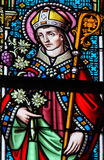 Stained Glass - Saint Omer Stock Photos