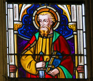 Stained Glass - Saint Paul Stock Photography