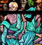 Stained Glass - Skeleton Royalty Free Stock Photos
