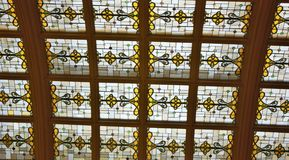 Stained Glass Skylight Royalty Free Stock Images