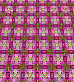 Stained glass squares Stock Photos