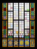 Stained Glass in St. Antuan Church Royalty Free Stock Photo