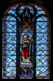 Stained Glass St. Paul Stock Image