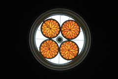 Stained Glass at Stourhead Stock Photos