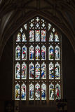 Stained glass in Tewkesbury Abbey A Stock Image