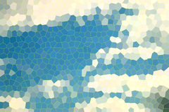 Stained glass texture background illustration pattern Stock Images
