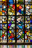 Stained glass in Tower of London Royalty Free Stock Photos