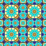 Stained glass pattern royalty free illustration