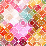 Stained glass vector background. Royalty Free Stock Images