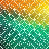 Stained glass vector circle background. Stock Photos