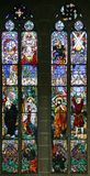 Stained-glass Venster 17 Royalty-vrije Stock Afbeeldingen