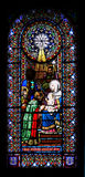 Stained-glass venster Royalty-vrije Stock Foto