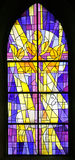 Stained-glass Venster 5 royalty-vrije stock afbeelding