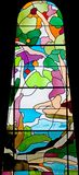 Stained-glass Venster 63 Stock Afbeeldingen