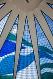 Stained glass wall stock photography