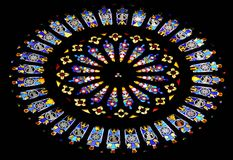 Stained glass window 1 Stock Images