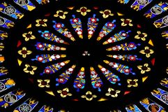 Stained glass window 1 Royalty Free Stock Images