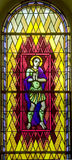 Stained-glass window 105 Stock Image