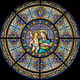 Stained-glass window 111 Royalty Free Stock Photography