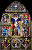 Stained-glass window 117 Royalty Free Stock Images