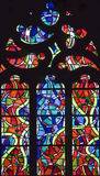 Stained-glass window 118 Stock Images