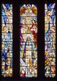 Stained-glass window Stock Image