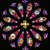 Stained-glass Window Royalty Free Stock Photography