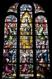 Stained glass window Royalty Free Stock Photos
