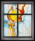 Stained-glass window Stock Photography
