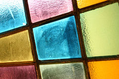 Stained-glass window. Multicolored background Royalty Free Stock Image